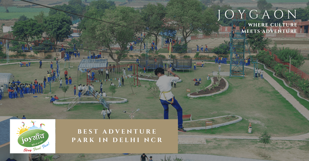 Best adventure park in Delhi NCR